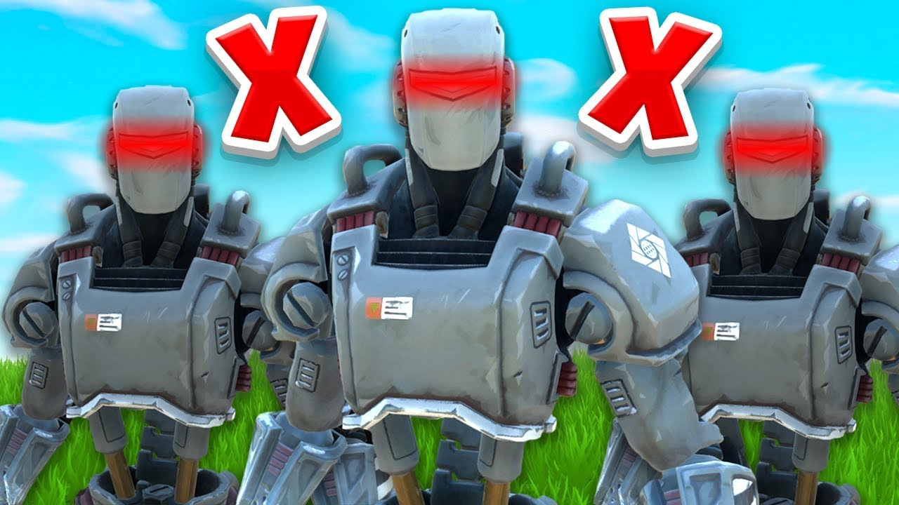 How To BREAK AI Bots In Fortnite... thumbnail