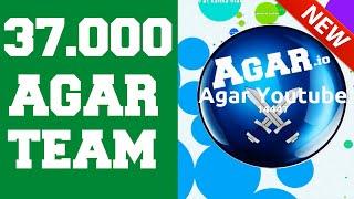 Agar.io Todays Team Gameplay 37.000 SCORE !