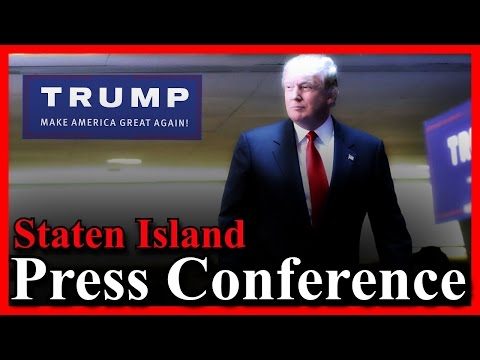 LIVE Donald Trump Press Conference Staten Island New York Hilton Garden Inn NY Stream (4-17-16) ✔