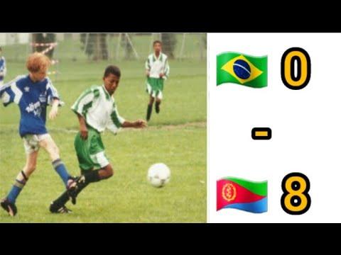 ACHU SPORT - Maytemenay young team (Eritrea) Vs Brazil young team Norway Cup 1996 Semi Final