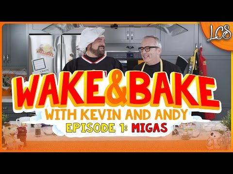WAKE & BAKE WITH KEVIN SMITH AND ANDY MCELFRESH - MIGAS