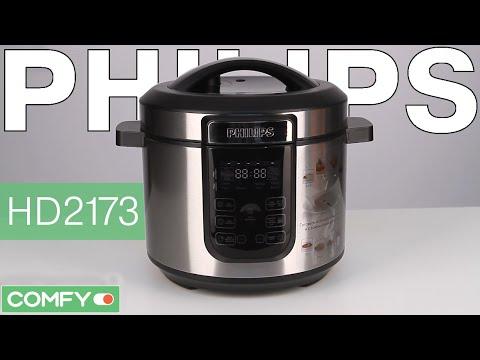 Видеодемонстрация мультиварки  Philips HD2173/03 от Comfy