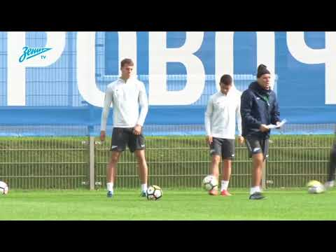 Roberto Mancini (Zenit) - Set Pieces Training
