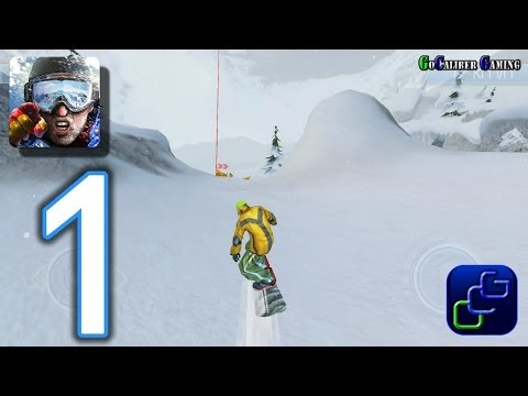 SNOWSTORM FREERIDE Android Walkthrough - Gameplay Part 1 - Tutorial, Alaska