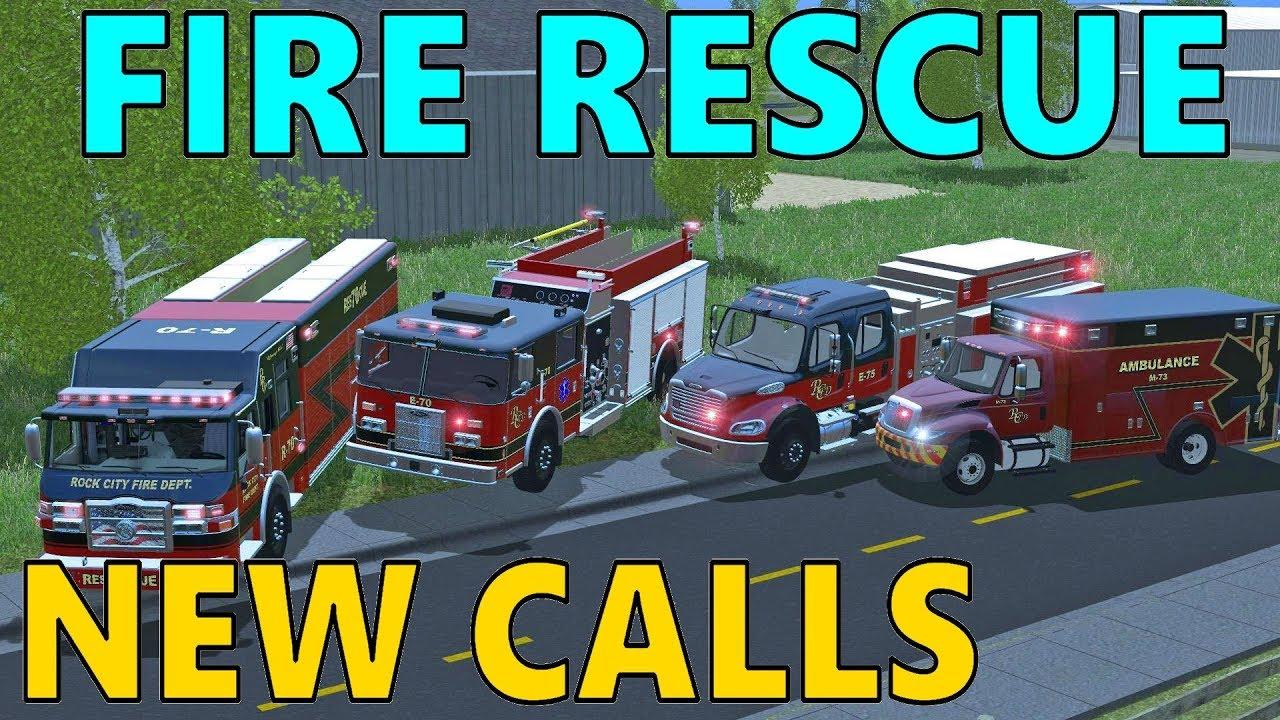 Farming Simulator 17 | Fire Rescue | Car Crash | Medic Call