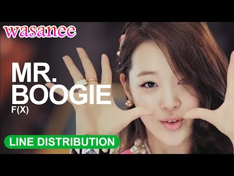 F(x) - Mr. Boogie - Line Distribution (Color Coded Image)