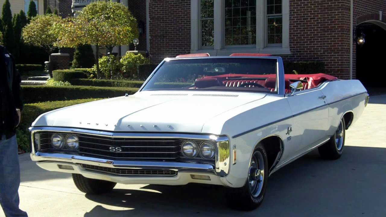 1969 Chevy Impala SS 427/350HP Classic Muscle Car for Sale ...
