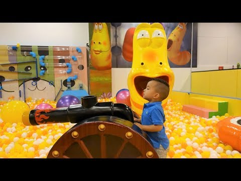 Larva Underground Adventure World Childrens Playground Fun With CKN