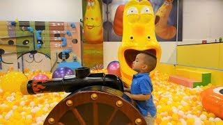 Larva Underground Adventure World Childrens Playground Fun With CKN