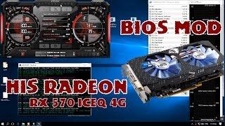 His rx 570 vga bios mod for Ethereum Zcash mining rig