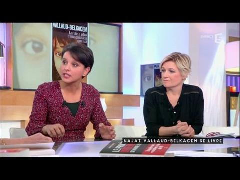 Najat Vallaud-Belkacem se livre - C à vous - 27/02/2017