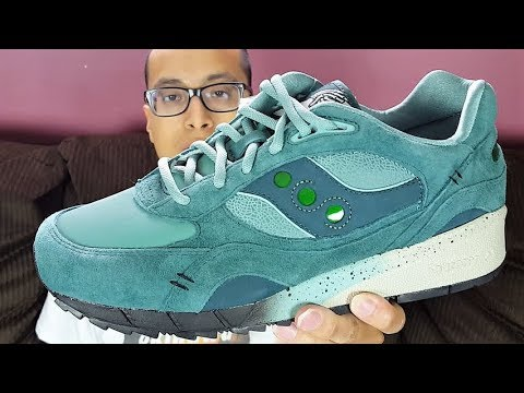 separation shoes e71aa 50b37 These Sneakers Honors Neveda s State Fossil! Feature x Saucony Shadow 6000  Living Fossil Review!