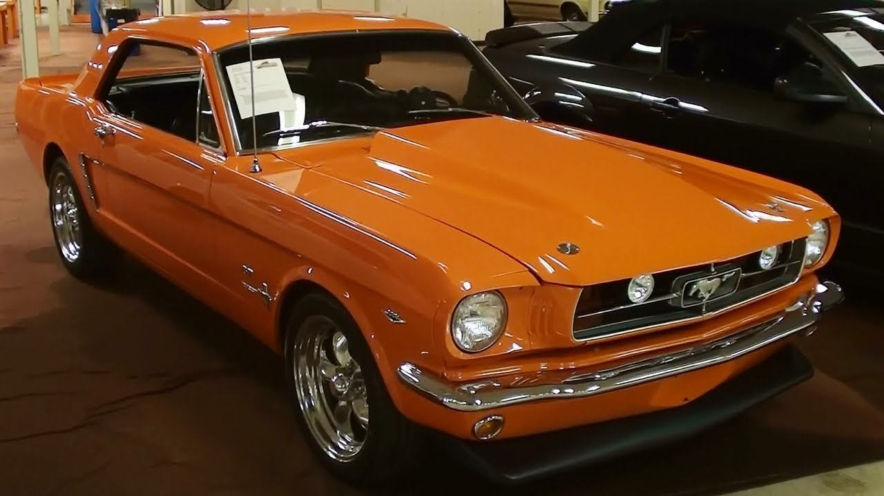 1965 ford mustang coupe 289 v8