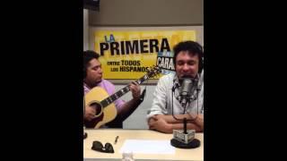 Andres Cepeda en vivo Caracol 1260 Miami