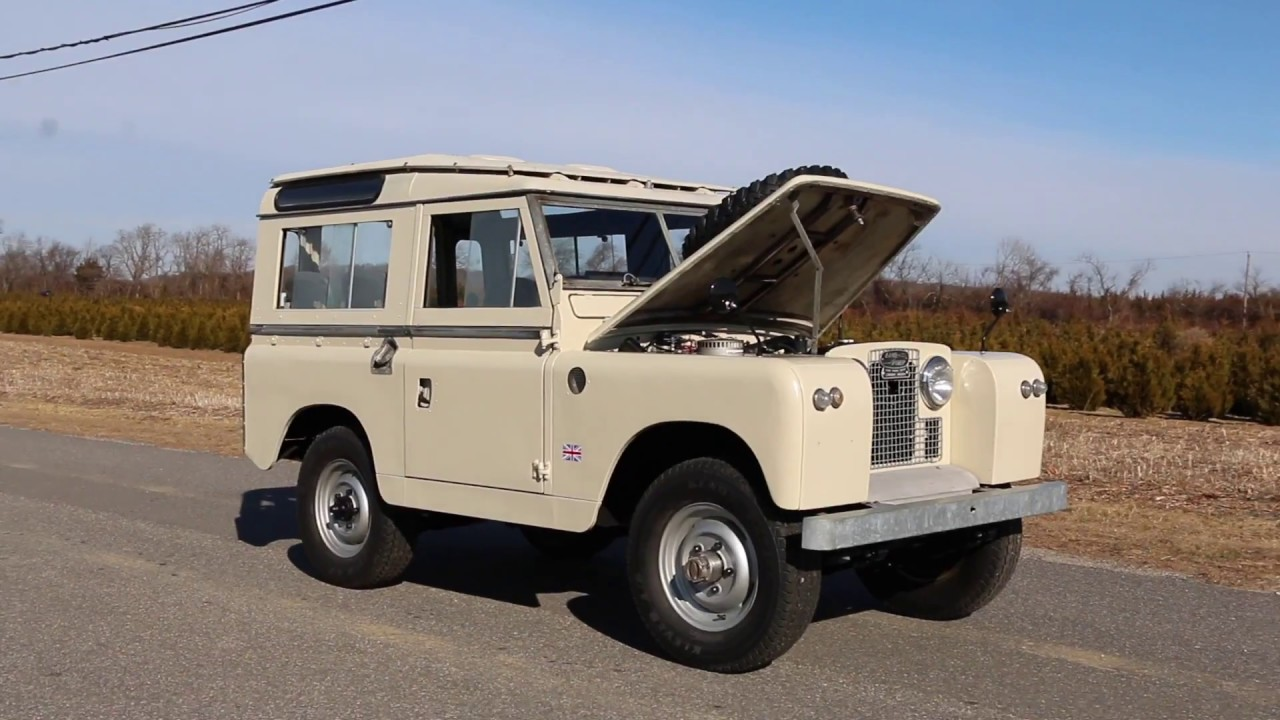 1973 Land Rover Series 2a 4wd Drive Station Wagon For Sale
