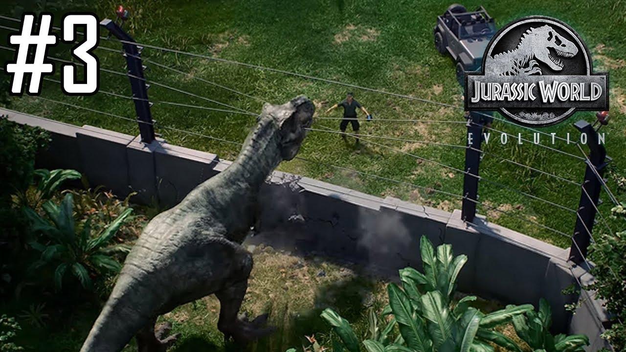 Jurassic world evolution 3 un dinosaure s 39 chappe et - Dinosaure jurassic world ...