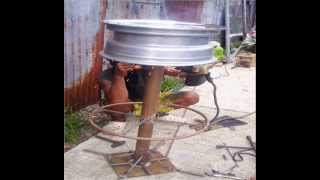 Scrap Metal Table