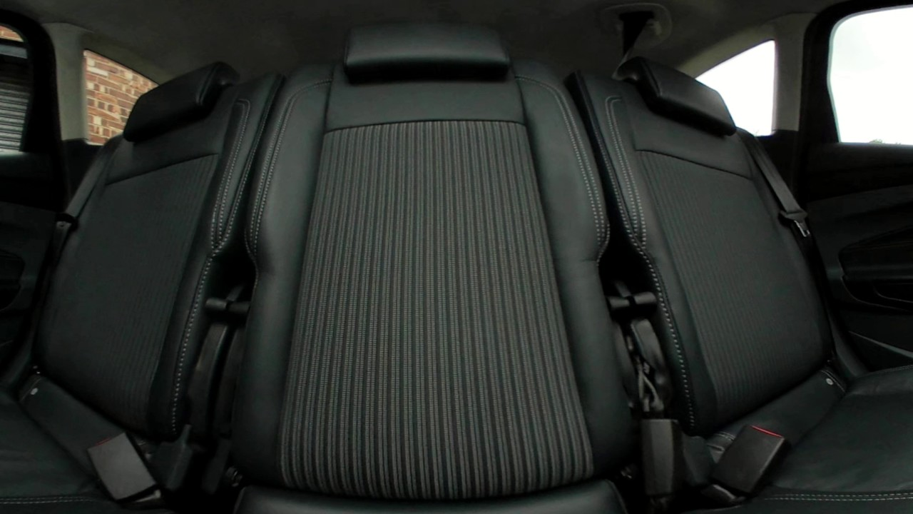 Ford C Max Back Seats Youtube