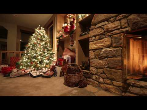 Free Hd Moving Backgrounds- Lighted Christmas Tree