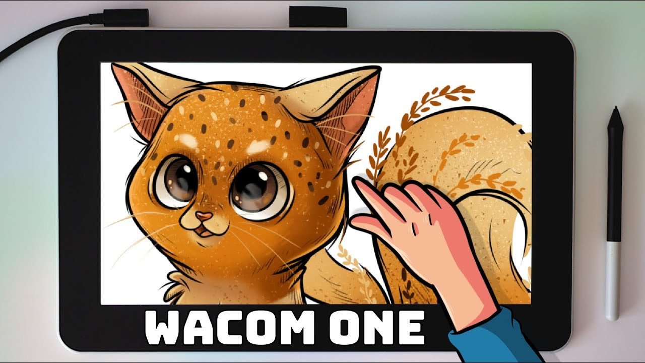 Тестирую планшет Wacom One
