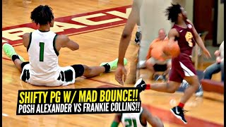 SHIFTY NY Point Guard w/ INSANE HANLDES vs Best PG from Arizona!! Posh Alexander vs Frankie Collins