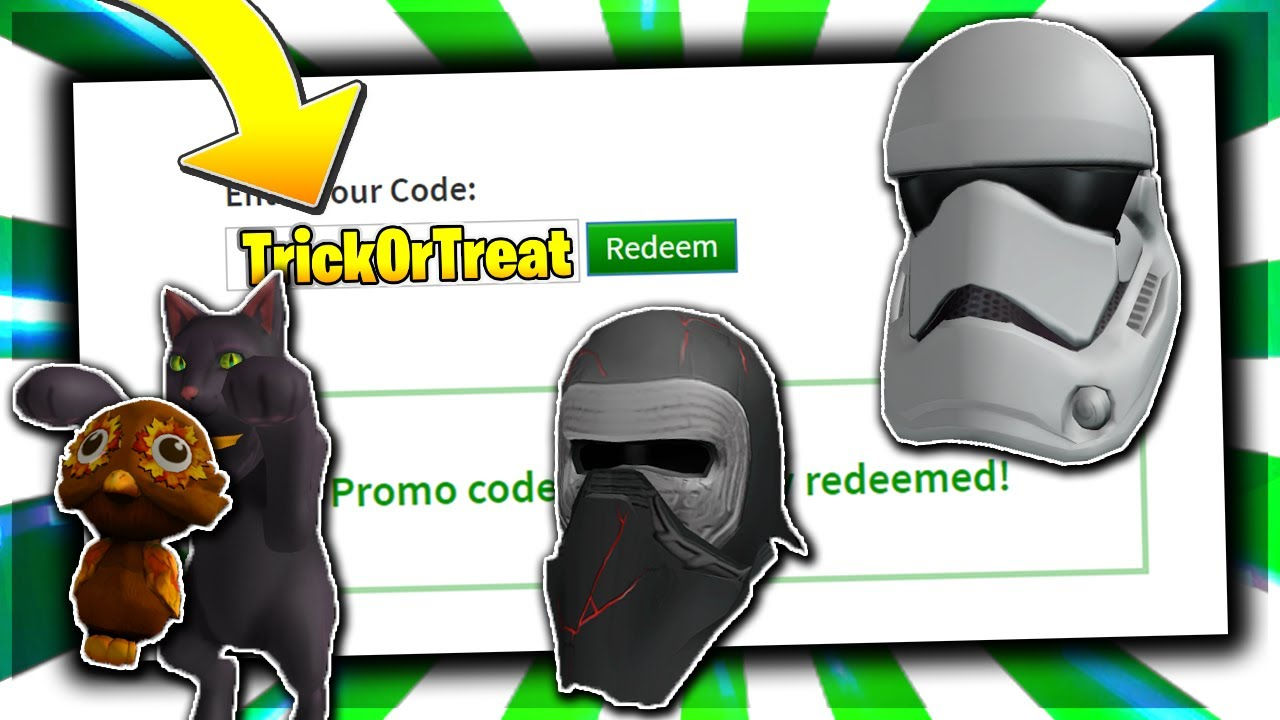 Roblox Vampire Mask Code - October All Working Promo Codes On Roblox 2019 Glitched Event Roblox Promo Code Not Expired