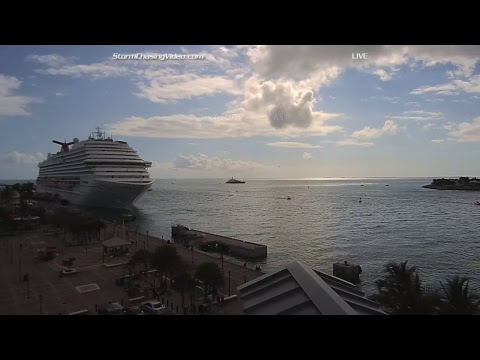 LIVE Key West Waterspout Conditions