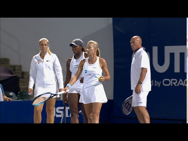 New York Empire vs. Chicago Smash 2020 with Kim Clijsters and Eugenie Bouchard | World TeamTennis