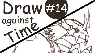 Wargreymon in 11 Minutes - Draw Against Time #14