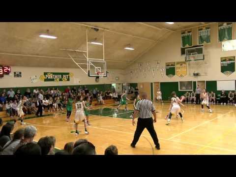 Pinewood girls basketball, vs Miramonte, Feb 20, 2016