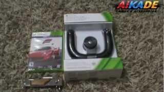 Promoção Vale Compra+Unbox Volante s/ fio+Forza 4 XBOX 360