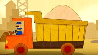 CarToons for Children with a Truck