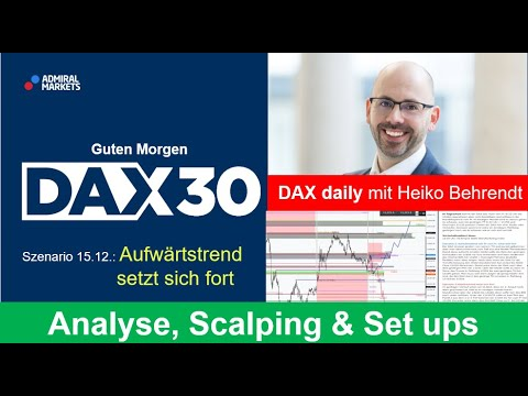 DAX aktuell: Analyse, Trading-Ideen & Scalping | DAX30 | CFD Trading | DAX Analyse | 15.12.2020