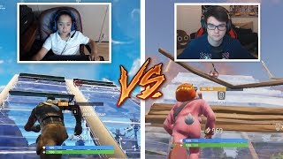 I Challenged The BEST 9 YEAR OLD FORTNITE PLAYER To A 1v1 BUILD BATTLE.. (Fortnite Playground)