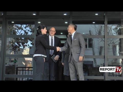 Report TV - Donald Lu 30' në zyrën e Kryeprokurores, takimi I me Arta Markun