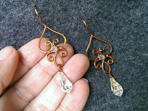etsy handmade mqwu il earrings gold wire market bronze eye