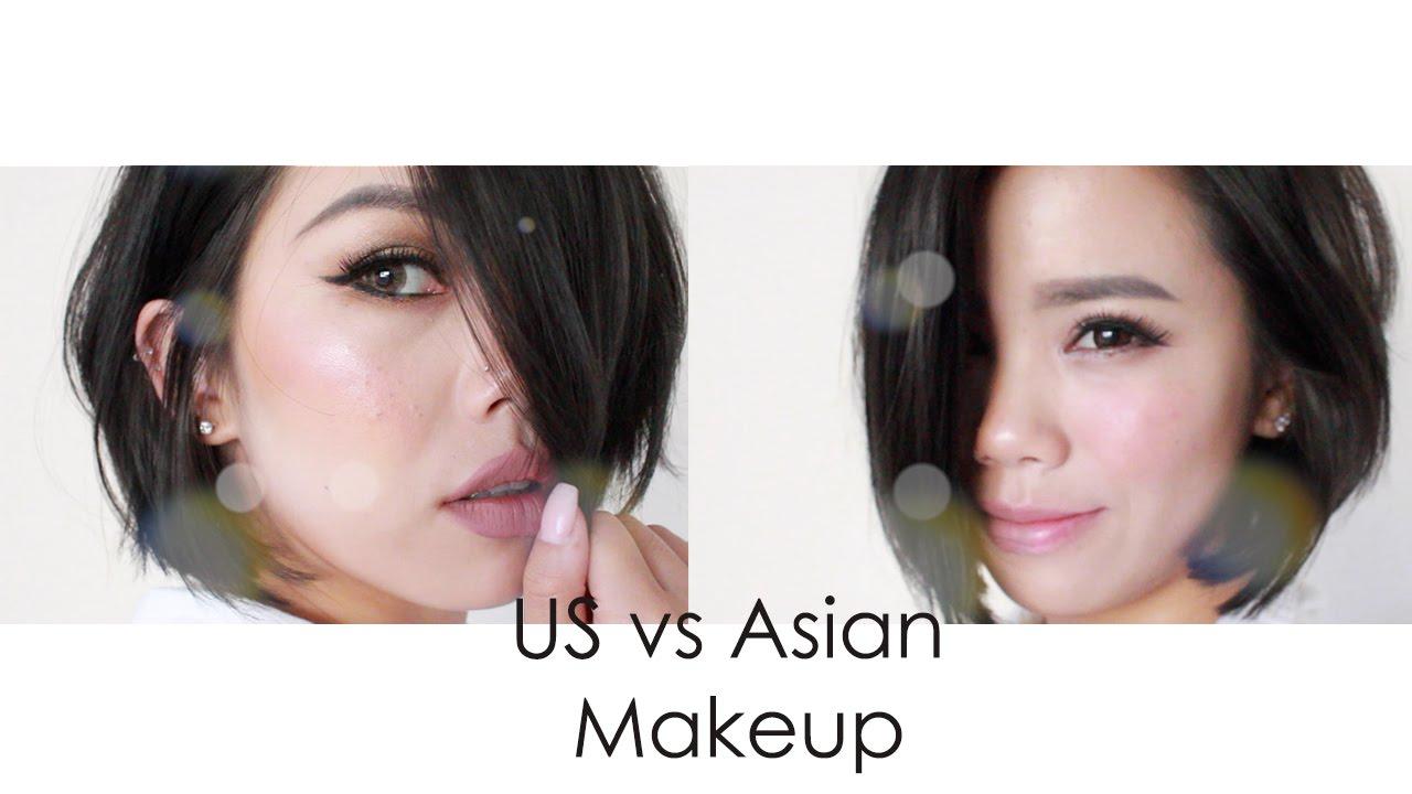 6ed5f039226 Tutorial | US vs Asian Style Makeup - YouTube