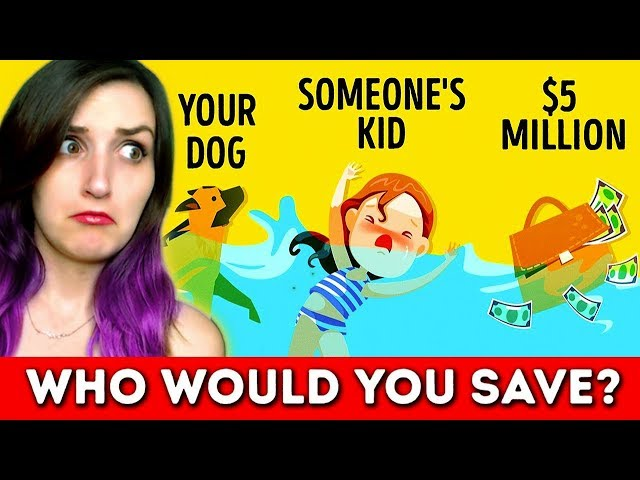 Answering The Most Savage Riddles On The Internet 2 (Who Would You Save?)