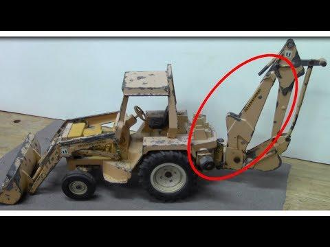Ertl International Backhoe 472 Restoration - Diecast Repair