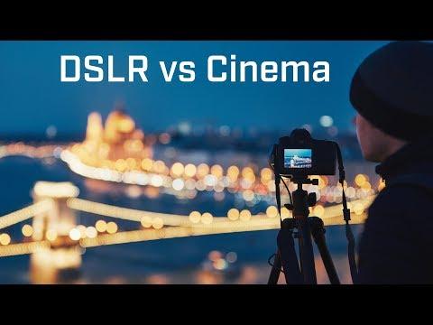 DSLR Vs Cinema Camera Q & A