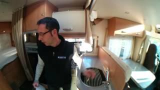 Chausson Flash 26 - camper usato con garage