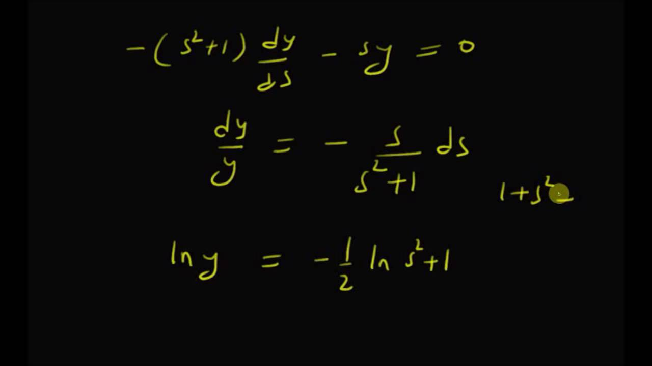 Laplace transform of Bessel function of order zero - YouTube