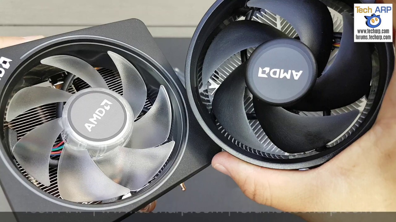 AMD Wraith Prism Preview - A Swirling Vortex Of Colour! - Tech ARP