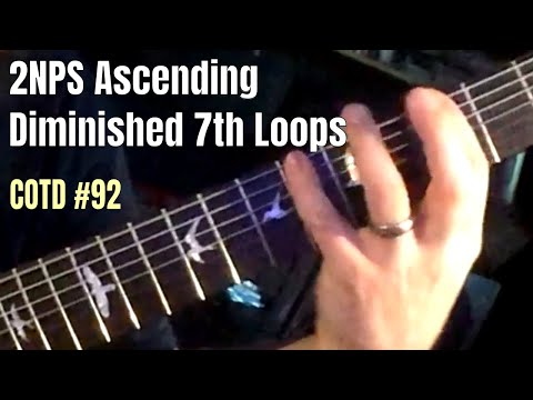 7-string Ascending 6-beat Loops | ShredMentor Challenge of the Day #92
