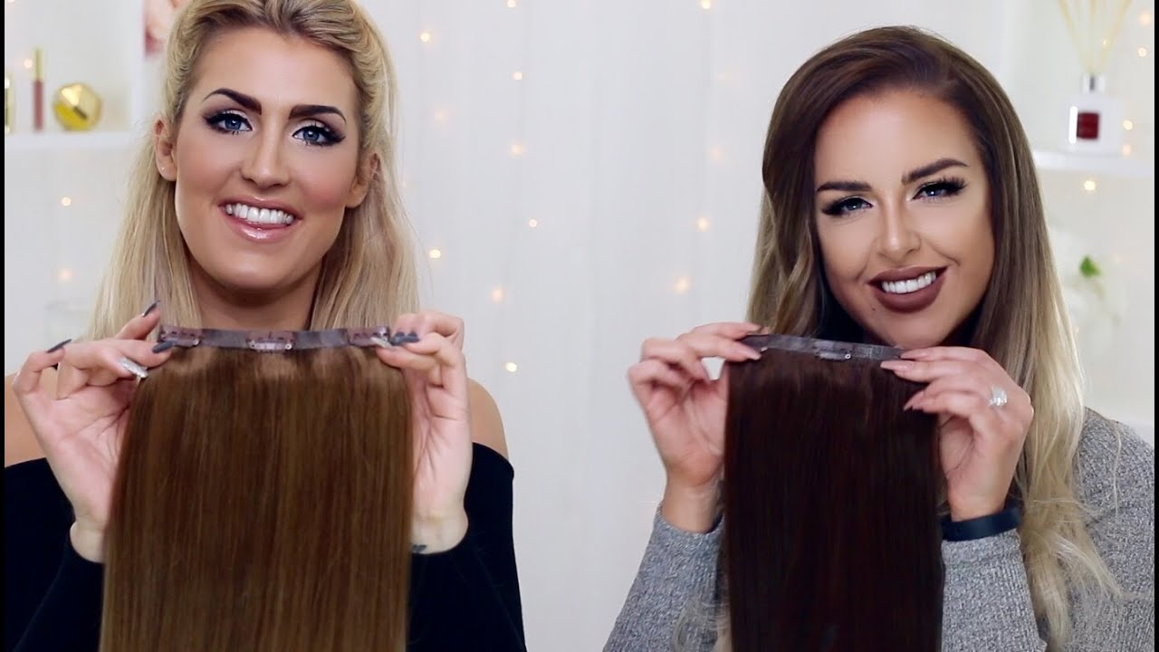 Foxy Locks Seamless Clip In Extensions The Best Clip Ins Ever