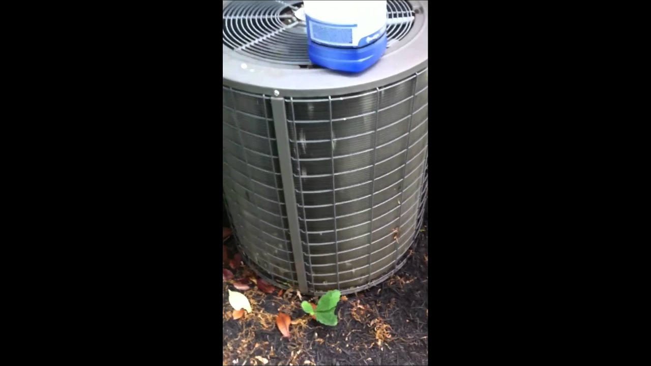 Chemical Cleaning Condenser Coils Youtube