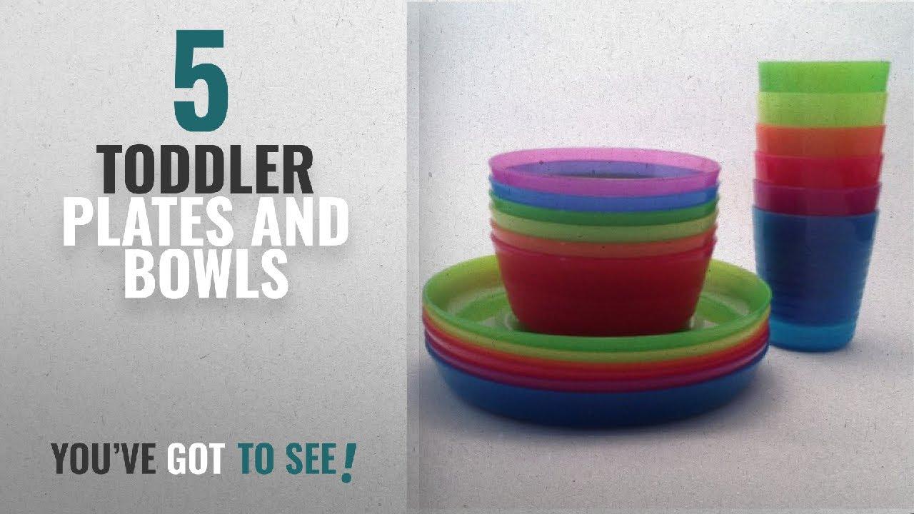 KALAS Children Color Bowl IKEA Tumbler and Plate Sets X6 Each