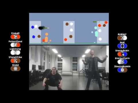 KinectMagic - A Kinect Wizard Duel Game Prototype