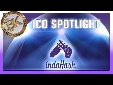 IndaHash ICO Review 👍 💯 Best New Technology: Blockchain Innovation Fintech   Barbara Soltysinska
