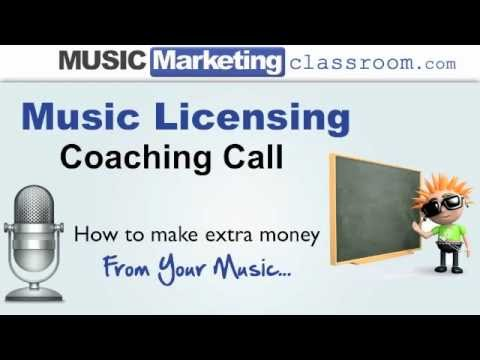 Music Licensing - How to make extra money from your music.